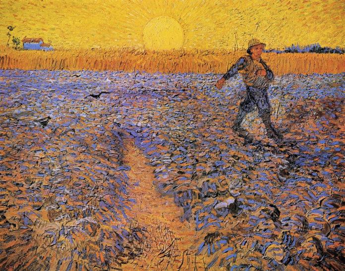 Van Gogh Sogno Di Dipingere Poi Dipingo I Miei Sogni