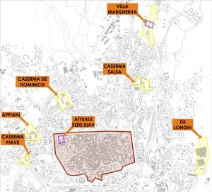 Le grandi aree di Treviso
